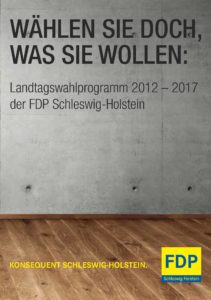 Book Cover: Wahlprogramm 2012-2017